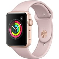 Apple Watch Gen 3 Series 3 42mm Gold Aluminum - Pink Sand Sport Band MQL22LL/A