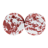 Red Tide Synthetic Stone Plugs (6mm-20mm)