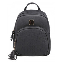 New Fashion Women Synthetic Leather Solid Shoulder Bag Backpacks