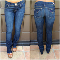 Ginny Straight Leg Jeans By Hudson