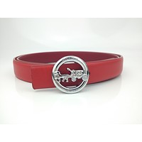 Coach Fashion classic casual belt with smooth buckle belt-1