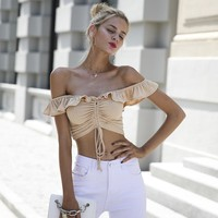 Cathalina Crop Top