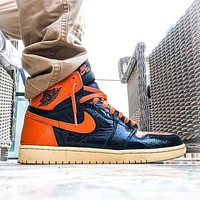 Nike Air Jordan 1 Retro High Shattered Backboard 3.0 Basketball Shoes Sneakers