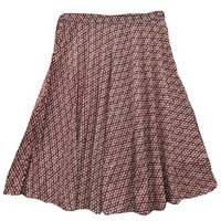 Indian Long Skirt Printed Gypsy Bohemian Full/ankle Length Maxi Skirt for Womens (Maroon 1): Amazon.com: Clothing