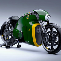 The Lotus C-01 is the Hyperbike from the Future