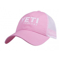 Yeti Ladies' Low Profile Trucker Hat - Pink