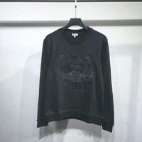 ONETOW KENZO Woman Men Fashion Simple Pullover Top Sweater
