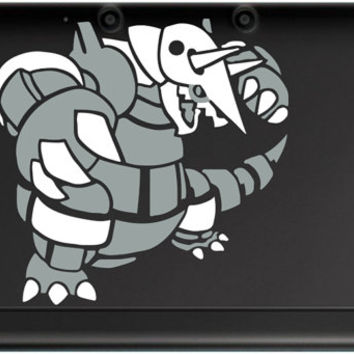 2 color Pokemon Aggron for 3ds or 3ds XL decal