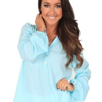 Accidentally In Love Clearwater Blouse | Monday Dress Boutique
