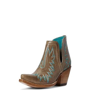 Ariat  Dixon Western Boot - Ash Brown