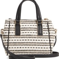 kate spade new york kingston drive - mini alena jute & raffia satchel | Nordstrom