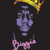 The Notorious B.I.G.-Chain, Music Blacklight Poster Print, 23 by 35-Inch