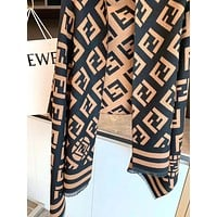 FENDI FF Women Fashion Scarf