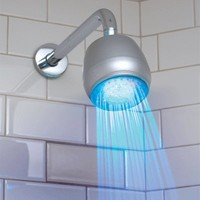 LED Bathroom Shower Head Light by Julyjoy