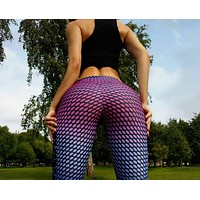 Casual Edgy Women Pattern Print  Pants Trousers  Sweatpants