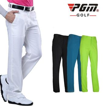 Pants Golf Clothes  Trousers for Men Quick Dry Breathable