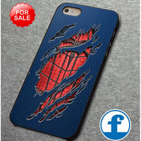Peter Parker Ripped Torn cloth for iphone, ipod, samsung galaxy, HTC and Nexus Phone Case