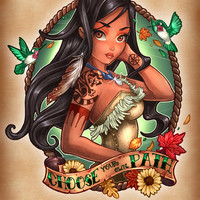 Choose Your Own Path Art Print by Tim Shumate   Society6