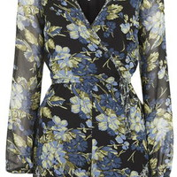 Floral Playsuit By Band Of Gypsies - Multi
