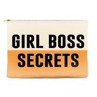 GIRL BOSS SECRETS - Pouch (more colors)