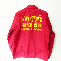 Vintage Who Cares Supper Club Jacket
