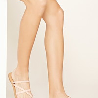 Braided Faux Leather Sandals | Forever 21 - 2000204436