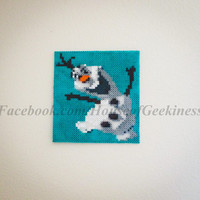 Frozen Inspired Olaf Magnet or Wall Decor