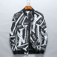 """LV"" tide brand fashion men's and women's jackets F-A00FS-GJ"