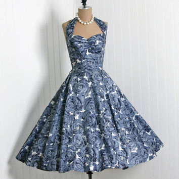 1950's Vintage Fred Perlberg by TimelessVixenVintage on Etsy