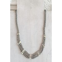 CNJ Vintage Art Deco Necklace