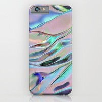liquid metal; iPhone & iPod Case by Pink Berry Patterns
