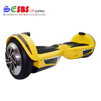 "7"" Smart Electric Self-Balancing Scooters Skateboard W/ Bluetooth LED"