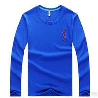 YSL  Casual Long Sleeve Top Sweater Pullover