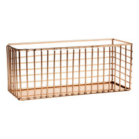 Metal Wire Basket - from H&M