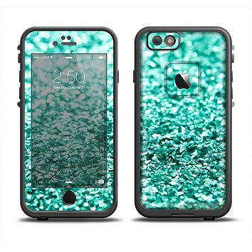 The Glimmer Green Apple iPhone 6 LifeProof Fre Case Skin Set