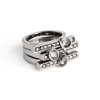 St. John Collection Triple Row Cocktail Ring | Nordstrom