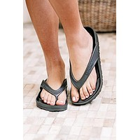 Honolulu Eva Birkenstocks | Metallic Anthracite | Regular