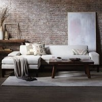 Lorimer 2-Piece Chaise Sectional