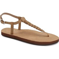 Women's T-Street Single Layer Leather Sandal in Sierra Brown by Rainbow Sandals