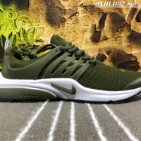 NIKE AIR PRESTO Net Surface Liht Running Shoes Green