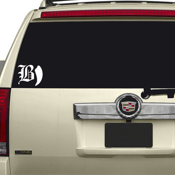 Beartooth vinyl decal sticker.  High Quality, free shipping in the United States