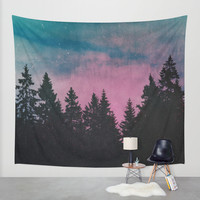 Breathe This Air Wall Tapestry by Tordis Kayma