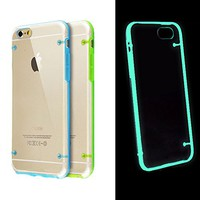 Luminous Glow in the Dark Cover Case for iPhone 6