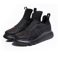 Indie Designs Triple Black Platform Boots