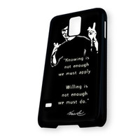 bruce lee quotes Samsung Galaxy S5 Case