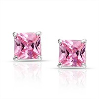 Bling Jewelry Think Pink Studs