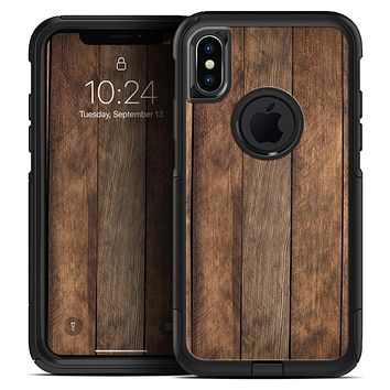 Raw Wood Planks V9 - Skin Kit for the iPhone OtterBox Cases