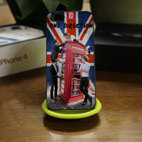 one direction take me home england - for iPhone 4 / 4S and iPhone 5 Case Hard Case Cover.