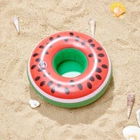 Watermelon Shaped Inflatable Drink Holder