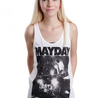 Mayday Parade - Upstage White - Tank